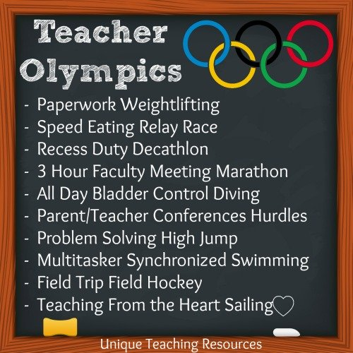 Teacher Olympic Events