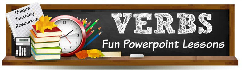 Fun powerpoint presentations for teachers to use to review verbs with their students.